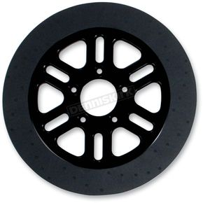 Lyndall Racing Brakes 11.5 in. Front Black Indy Lug-Drive Brake Rotor - NVLD-115FB06SA