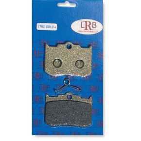 Lyndall Racing Brakes Gold Plus Organic Brake Pads  - 7182-GPLUS