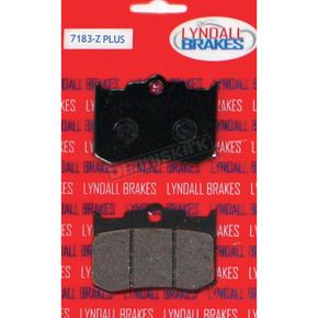 Lyndall Racing Brakes Z-Plus Brake Pads for Aftermarket Calipers - 7183-Z+