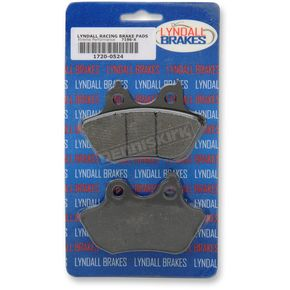 Lyndall Racing Brakes Rear X-treme Performance Brake Pads - 7196X