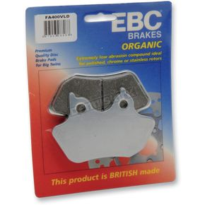 EBC Limited Edition Chromed Semi-Sintered VLD Brake Pads - FA400VLD