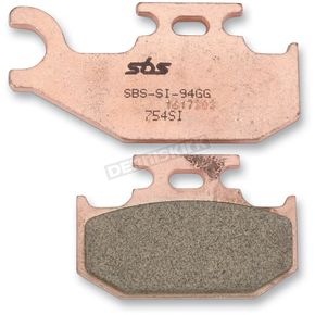 SBS SI Sintered Metal Compound Brake Pads - 754SI