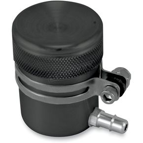 Alloy Art Black Anodized Reservoir for Most OEM and Aftermarket Hand Controls w/Remote Reservoir - UR-2