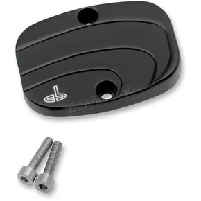 Carl Brouhard Designs Black Lefty Rear Master Cylinder Cover - LF0008B
