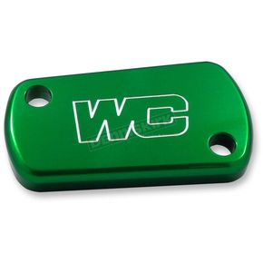 Works Connection Green Rear Brake Reservoir Cover - 21-618
