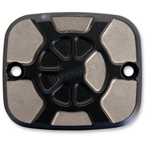 LA Choppers Laser Fustion Satin Black Brake Master Cylinder Cover - LA-F550-02M