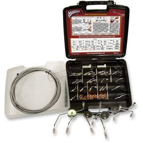 Designer Series BYO Build-Your-Own DOT Brake Line Master Builder Kit - 399002