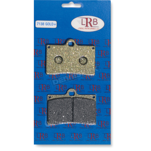 Lyndall Racing Brakes Gold Plus Organic Brake Pads  - 7138-GPLUS