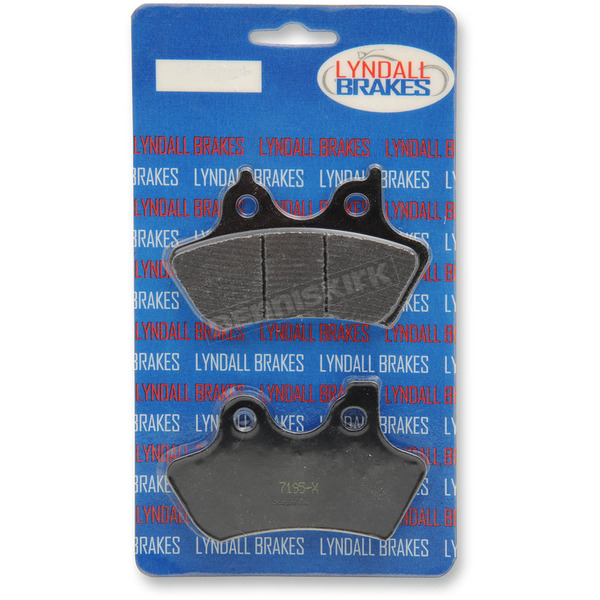 Lyndall Racing Brakes X-treme Performance Brake Pads - 7195X