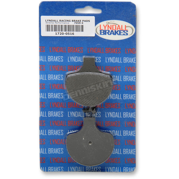 Lyndall Racing Brakes Front X-treme Performance Brake Pads - 7059X