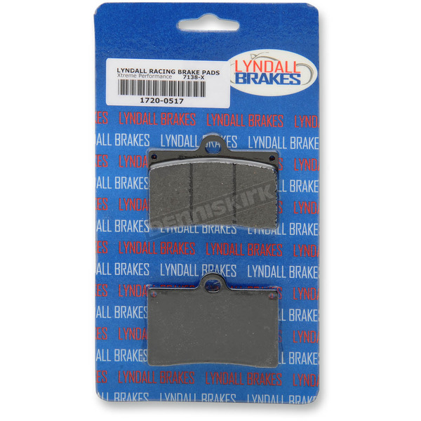 Lyndall Racing Brakes X-treme Performance Brake Pads for Aftermarket Calipers - 7138X