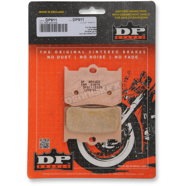 DP Brakes Sintered Metal Brake Pads for Performance Machine Calipers - DP911