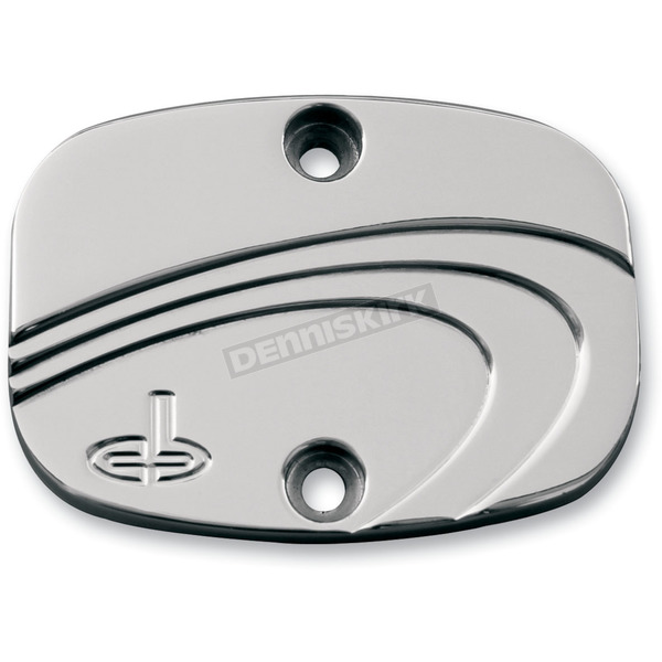 Carl Brouhard Designs Chrome Waterfall Rear Master Cylinder Cover - WF-0010-C