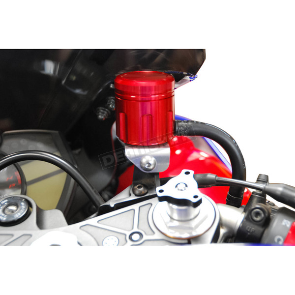 Powerstands Racing Red GP Front Brake Reservoir - 03-01800-24