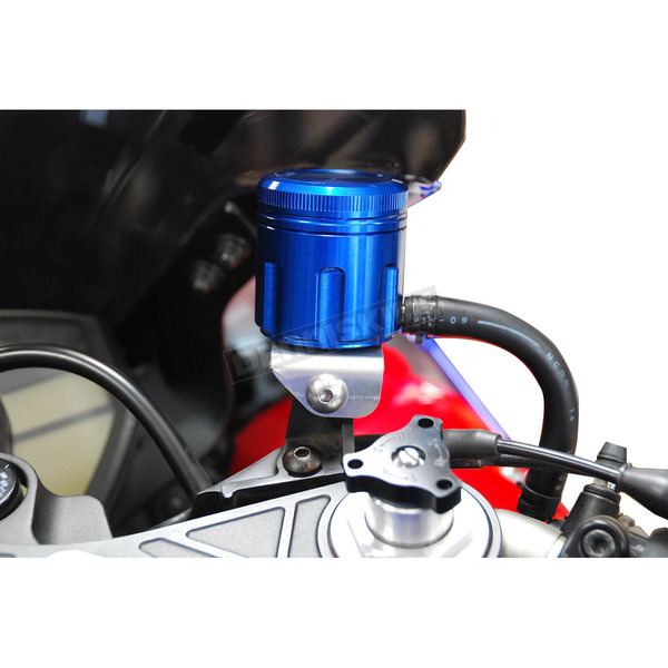 Powerstands Racing Blue GP Front Brake Reservoir - 05-01800-25
