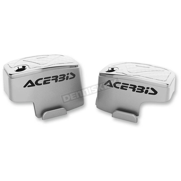 Acerbis White Master Cylinder Covers - 2449540002