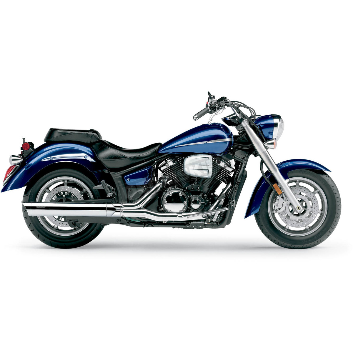 Cobra 4 in. Scalloped Slip-On Mufflers - 2275