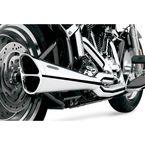 Chrome Tri-Pro Exhaust System - 6480