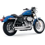 Q-Series Double Barrel Exhaust - 18005
