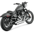 Chrome Big Radius Exhaust - 26055