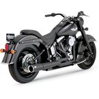 Black Pro Pipe Exhaust System - 47547