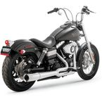 Chrome Pro Pipe 2 into 1 Exhaust System - 17569
