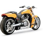 Brushed Stainless Steel Competition Series 2-into-1 Exhaust System - 751164