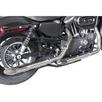 Chrome 2 1/2 in. Slash-Out Slip-On Mufflers - MXL-114SS