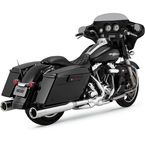 Chrome Oversizes 450 Destroyer Slip-On Mufflers - 16553