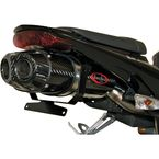 RT-One Dual Outlet Factory Replica Carbon Fiber Mufflers w/Carbon Fiber End Cap - 18-7010-524-02