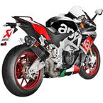 Titanium/Carbon/Carbon Slip-On Muffler for RSV4 15 - S-A10SO8-RC