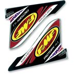 Factory 4.1 U.S.A. 2-Part Wrap Logo Decal - 012636