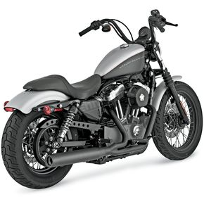 Vance & Hines Blackout 2 into 1 Exhaust System - 47501