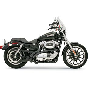 Bassani Black Radial Sweepers Exhaust System - XL-FF12B