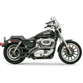 Bassani Black Ceramic Radial Sweeper Exhaust System - XLF12