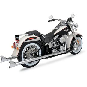 Python Fishtail True Duals Exhaust System - 1800-1311
