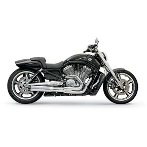 Bassani Chrome Road Rage II B1 Power Exhaust System - 1V38R