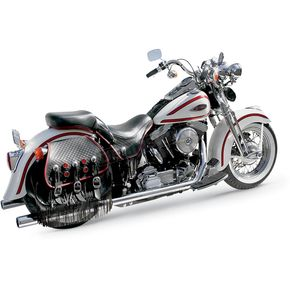 Samson Chrome True Dual Crossover Exhaust System - S3-443