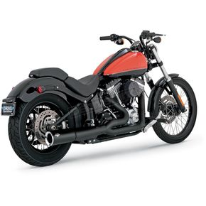 Vance & Hines Black Pro Pipe Exhaust System - 47527