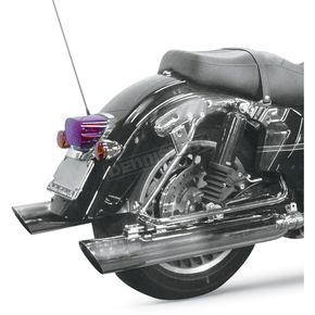 Cycle Shack 4 in. Slash-Down Muffler for 2 in. Header System - MHD-484SD