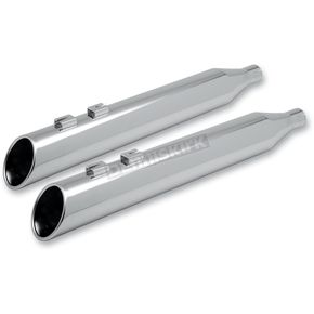 Klock Werks Super Saver 4 in. Forward Slash Slip-On Mufflers - KW02010010C
