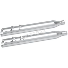 Khrome Werks 3 1/2 in. HP-Plus Slash-Up Touring Mufflers - 202290