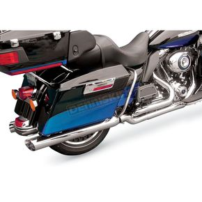 Cycle Shack 3-1/2 in. Slash Out Mufflers for 2 in. Header System - MHC-352SS