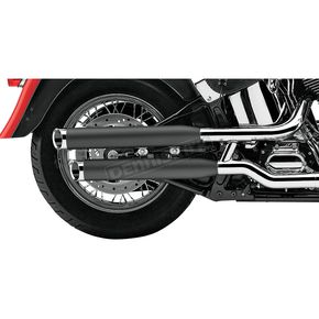 Cobra Black 3 in. Slip-On Mufflers - 6003B