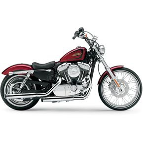 Cobra Chrome 3 in. Slip-On Mufflers - 6032