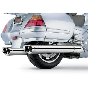 Cobra Tri-Oval Slip-On Mufflers - 1214
