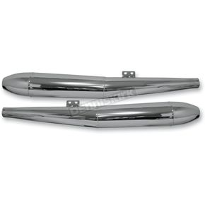 Emgo OEM Replacement BMW Right Side Muffler - 80-84065