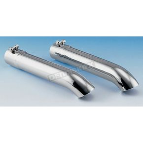 Show Chrome Straight Exhaust Extension - 2-250