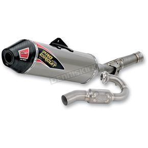 Pro Circuit Ti-5 4-Stroke Race System with Carbon Fiber End Cap - 0351225F