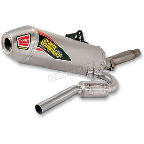 Pro Circuit TI-5 Race Exhaust System w/ Titanium End Caps - 0311215E